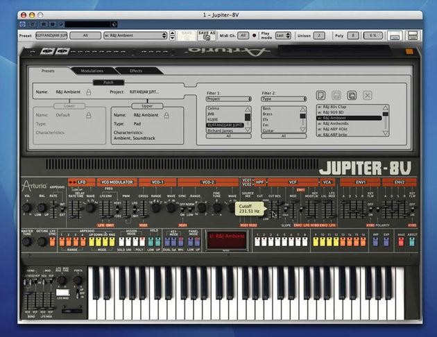 Arturia Jupiter-8V