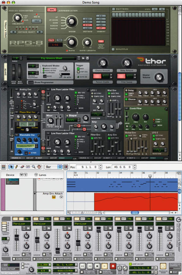 Version 4 adds some new modules to the Reason rack