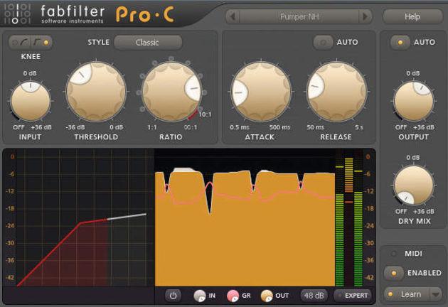 FabFilter Pro-C (PC/Mac, £124)