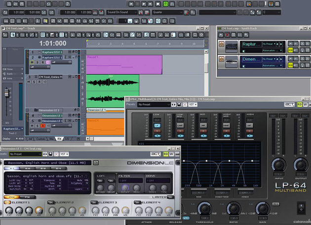 Sonar 7 is fit to burst with new features and plug-ins.