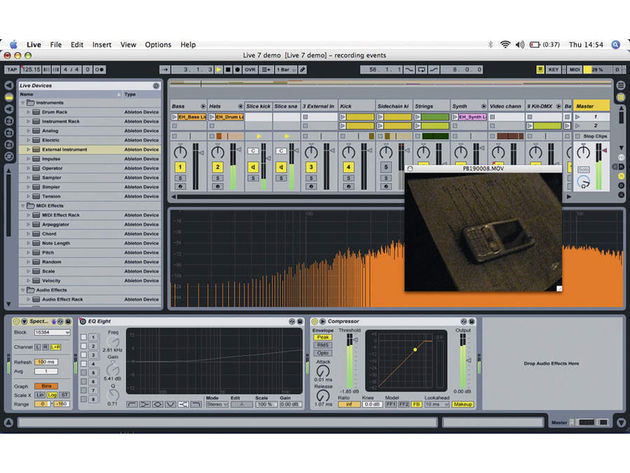 Ableton Live 7 is just one of many applications to use Zplane's technology.