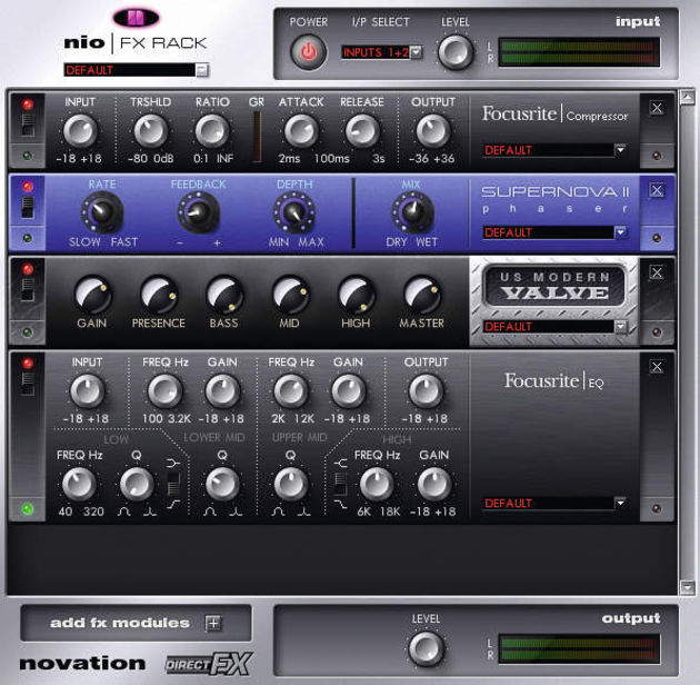 Parent company Focusrite has supplied some tasty mastering processing