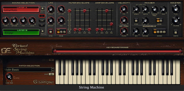 GForce Virtual String Machine