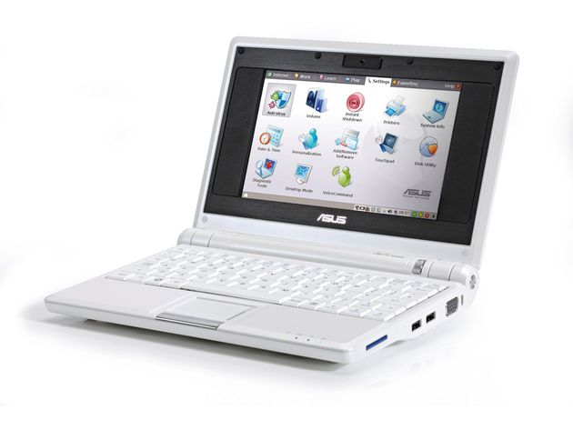 It may be cheap, but the Eee PC looks and feels great.