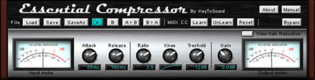 The Essential Compressor is great for mastering.