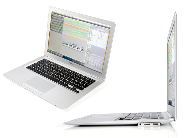 "The MacBook Air is just 0.16"" at its thinnest point"