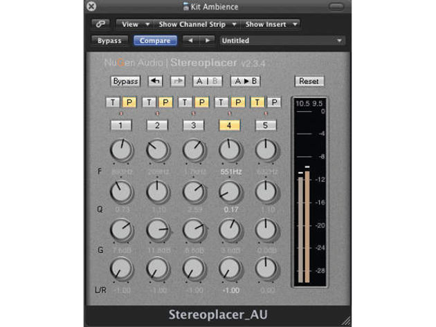 You can pan frequency ranges with the Stereoplacer.