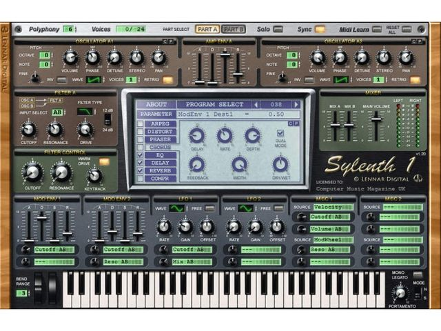 Cool presets for a cool synth.