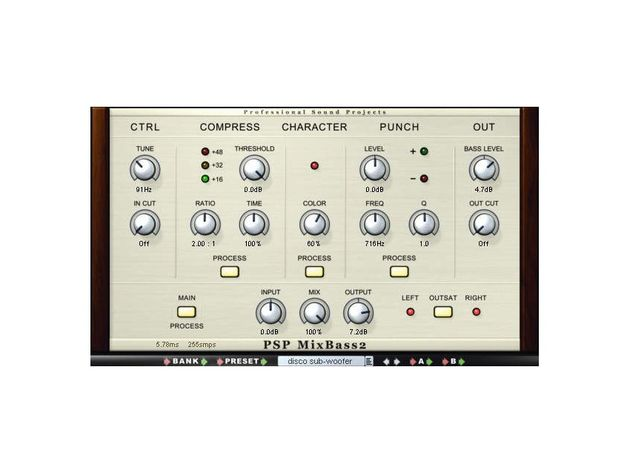 Add some analogue punch with MixBass2.
