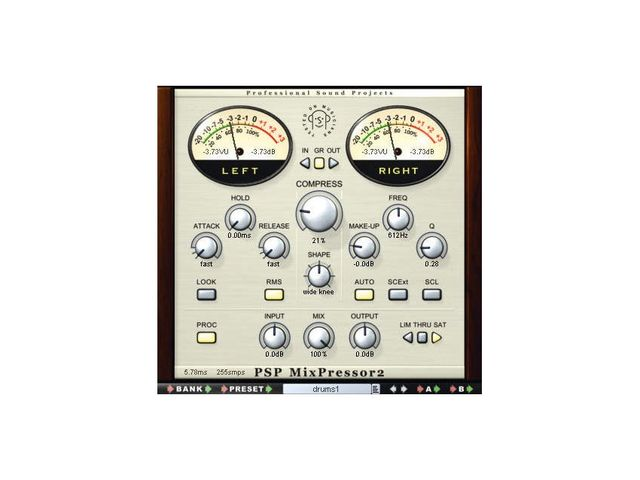 MixPressor2 is an advanced compressor.