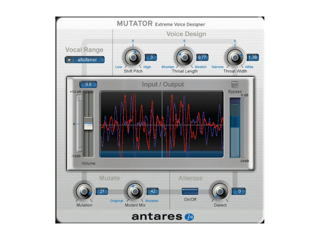 Mutator lets you produce other-worldly sounds.