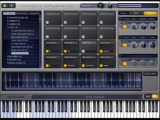Beatscape is an MPC-style instrument.