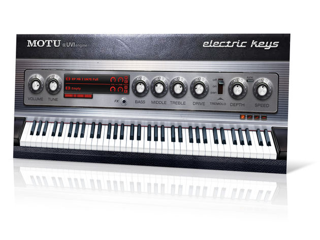 Electric Keys' vintage look matches its vintage sound.