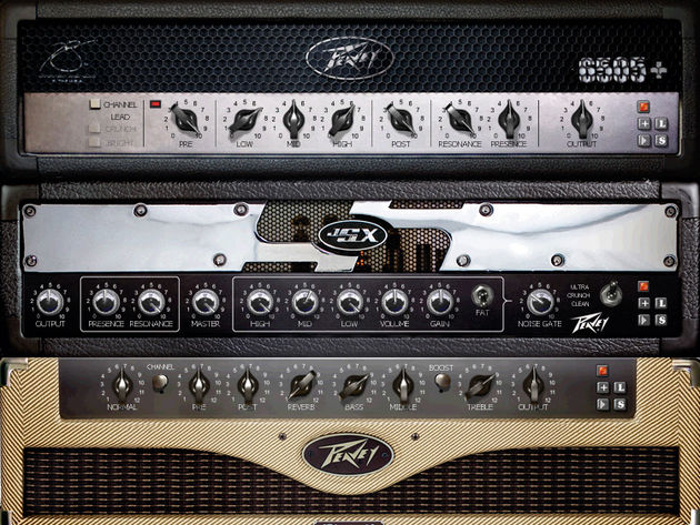 Peavey has put its visual stamp on ReValver Mk III.