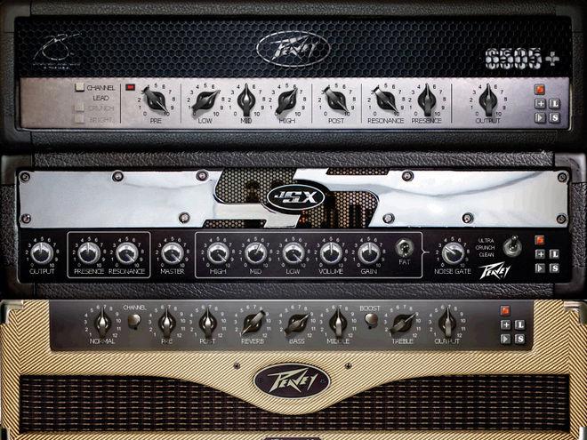Peavey Electronics Revalver Mk III V - новая версия виртуального гитарного