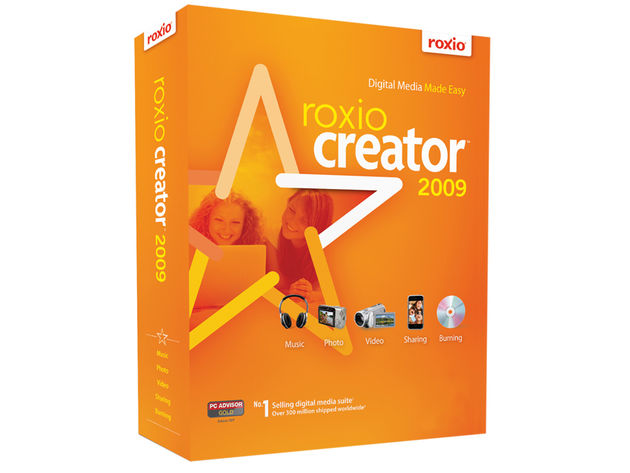 Creator 2009 lets you do more than just burn CDs.