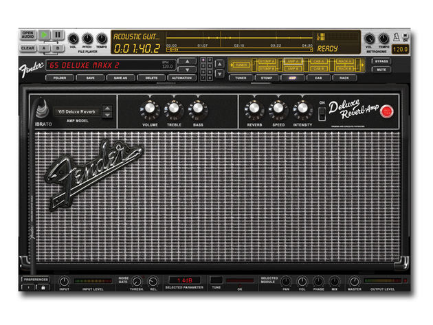 It looks like a Fender amp, and it sounds like one, too.
