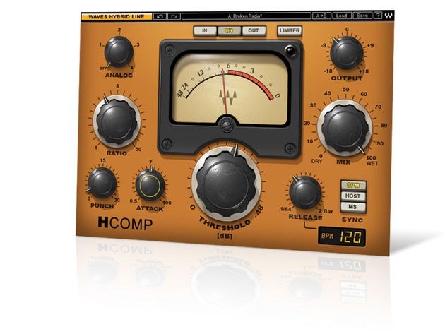 H-Comp features four analogue-style colouration modes.