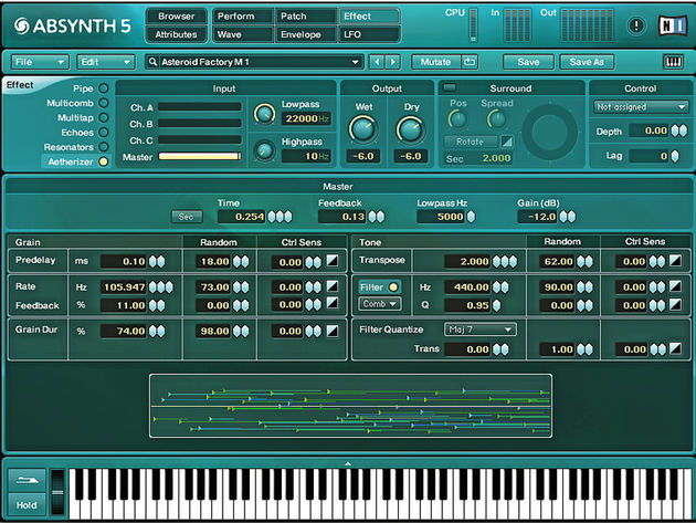 Absynth remains a sound designer's dream.