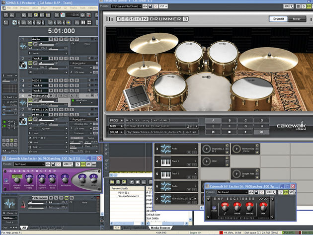 Sonar 8.5 gives you the new toys that Sonar 8 didn't.