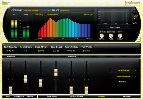Lexicon native reverb plug-in bundle