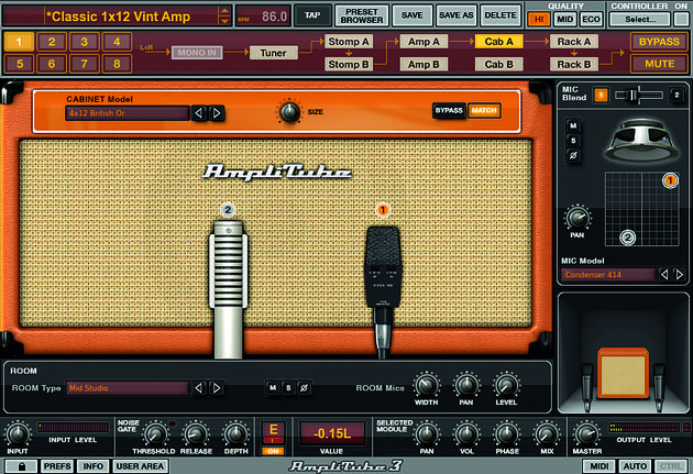 IK Multimedia AmpliTube 3 (€318)