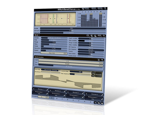 MeldaProduction MMultiBandChorus (€30)