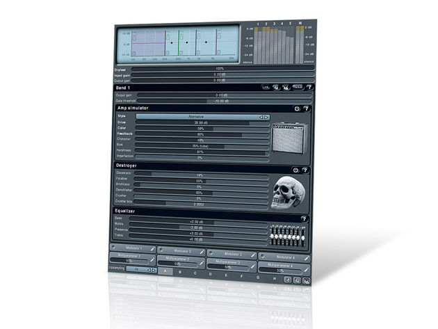 MeldaProduction MMultiBandDistortion (€30)