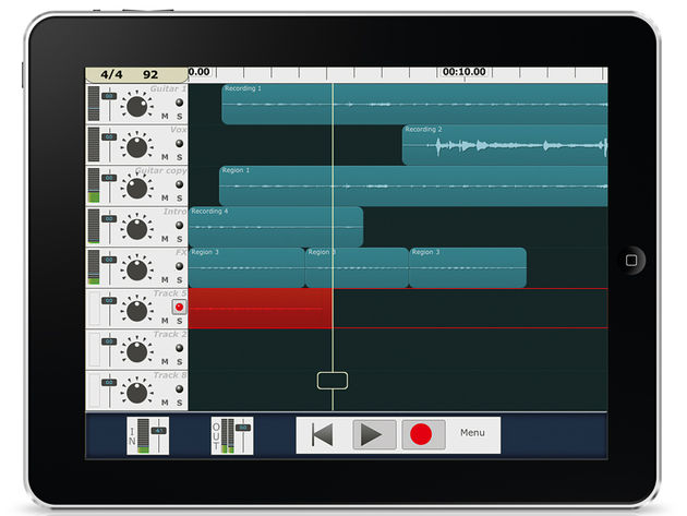 Version 2 of MultiTrack DAW adds iPad support.