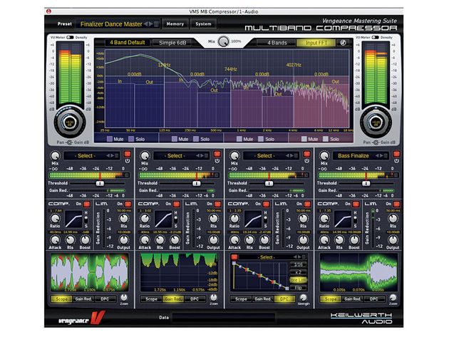 Vengeance-Sound Multiband Compressor  (PC/Mac, £85)