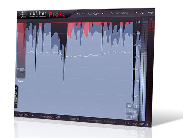 Pro-L's clear, original visual interface brings something new to the limiter party.