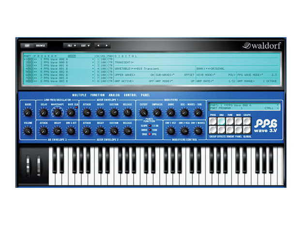 We compared the PPG Wave 3.V plug-in to the original hardware - and came away impressed.