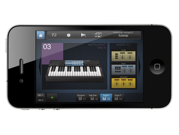 BeatMaker 2 gives you all the tools you need to create a complete track.