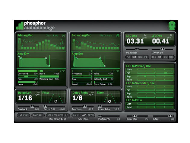 Audio Damage Phosphor ($59)