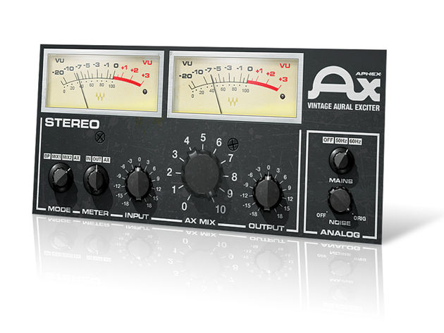 This Aural Exciter is best when used sparingly.
