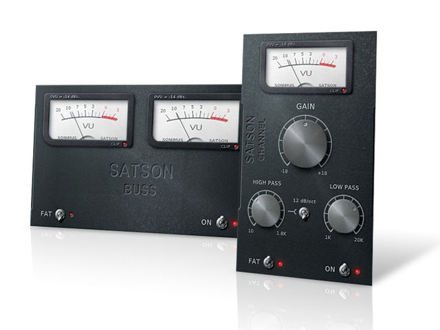 Satson doesn't overtly emulate any specific mixing desk.