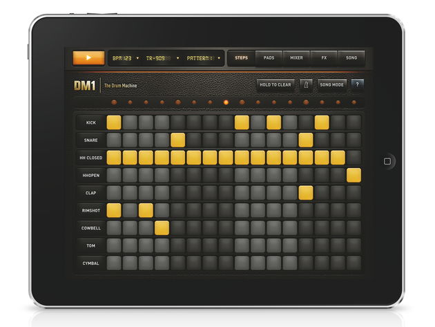29 drum kits are available on the app