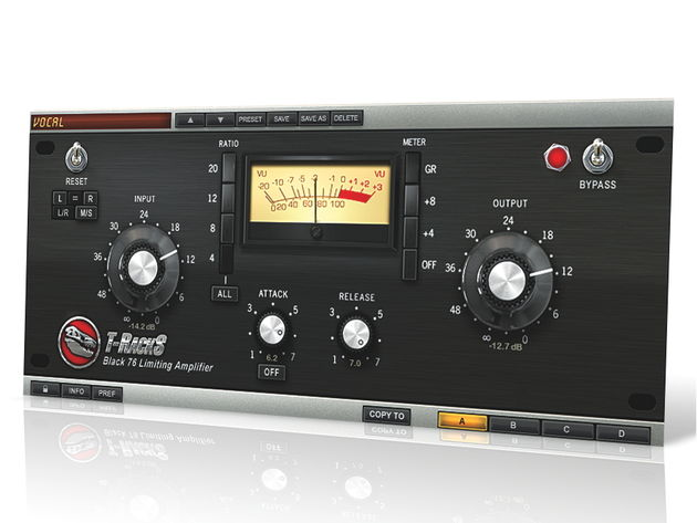 For PC or Mac, this limiting amp plug-in emulates the 1176.
