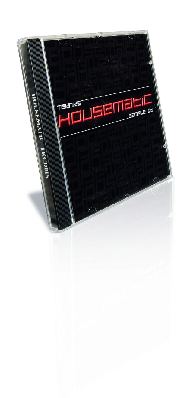 The Housematic pack leans to the harder end of house styles.