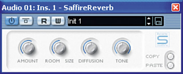 A suite of DSP-powered plug-ins comes included.