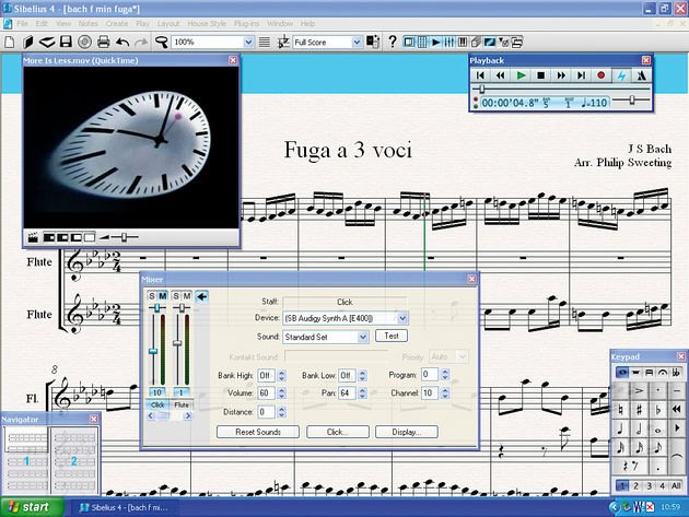 Sibelius remains the industry standard notation software.