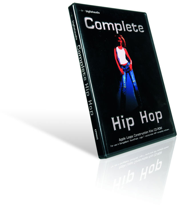 The pack consists of a rang of construction kits for creating hip-hop beats.