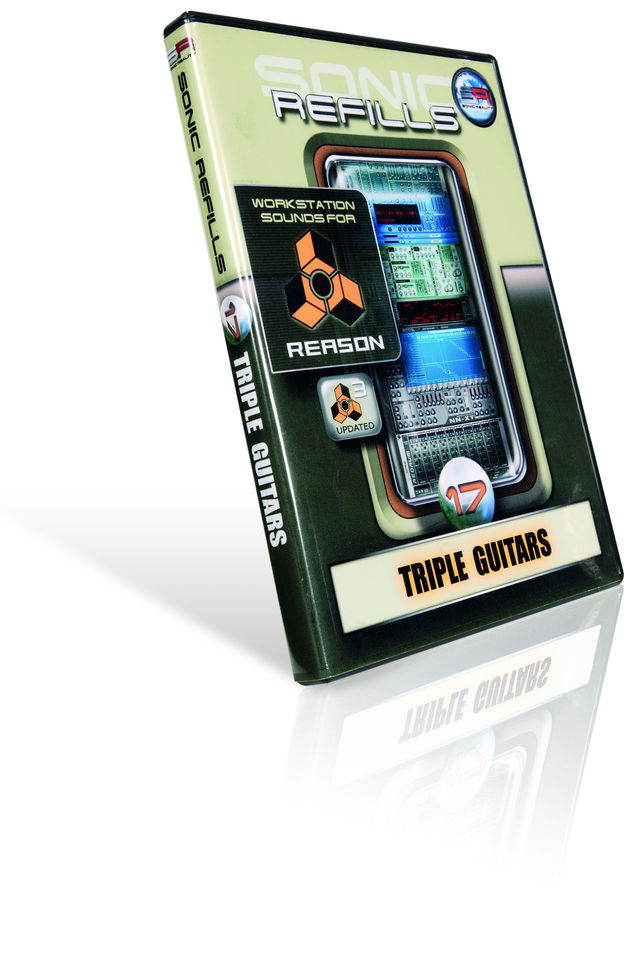 A variety of guitar effects patches can be combined with the vanilla guitar sounds.