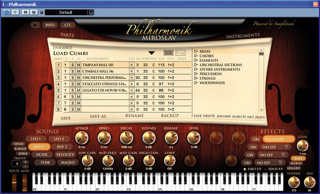 Miroslav Philharmonik brings the whole orchestra to your PC.
