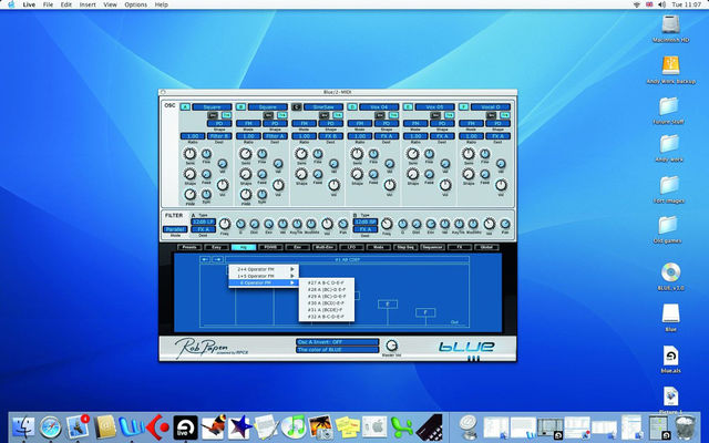 Rob papen's Blue: a truly versatile synthesizer