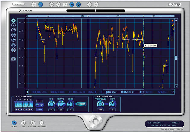 Fix it in the mix with V-Vocal processing.