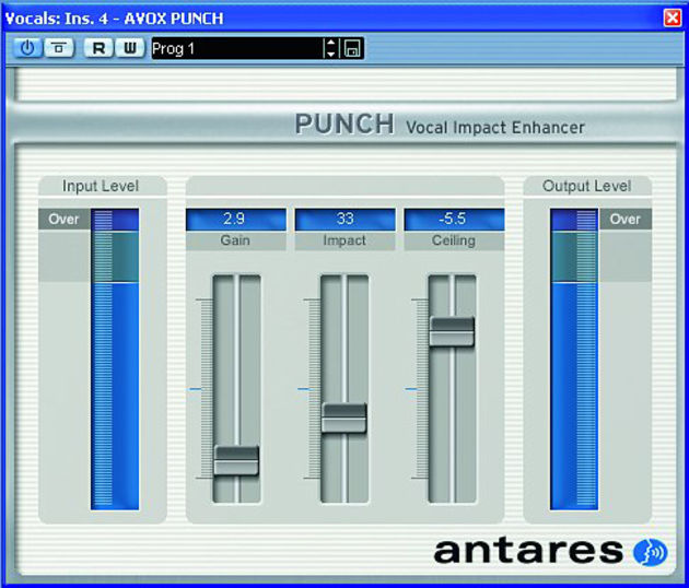Punch is a vocal compressor.