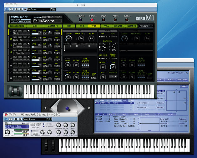 The Legacy Digital Edition contains two synths and a multi-effects unit.