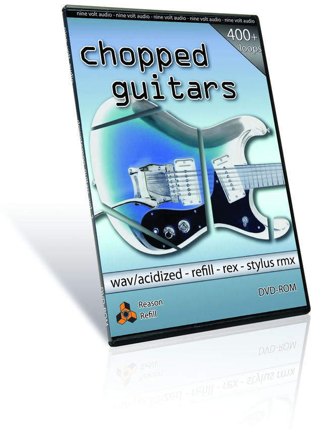 This collection consistes of gated, chopped guitar parts.