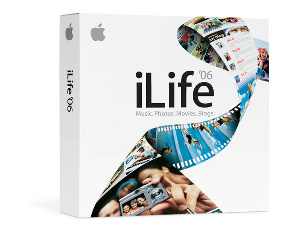 GarageBand ships with the iLife '06 package
